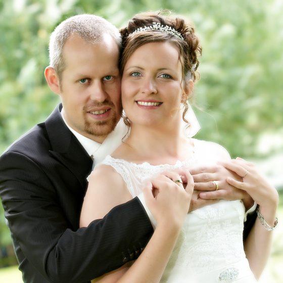 Bryllupsbillede, fotograferet af Brian Bjeldbak