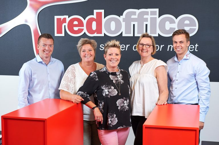 Teamet hos Red Office Viborg