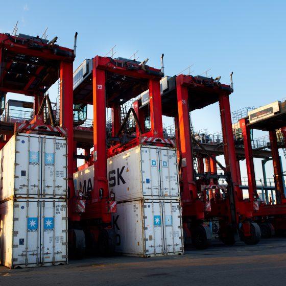 APM Containerteminal Aarhus, fotograferet af Brian Bjeldbak