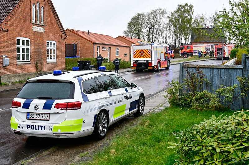Gasudslip i Rødding