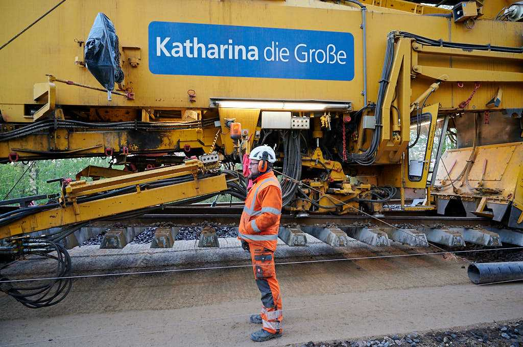 Tyske Katharina die Grosse renoverer spor i Hobro