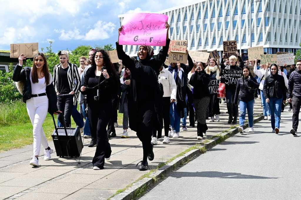 Black Lives Matter-demonstration i Viborg