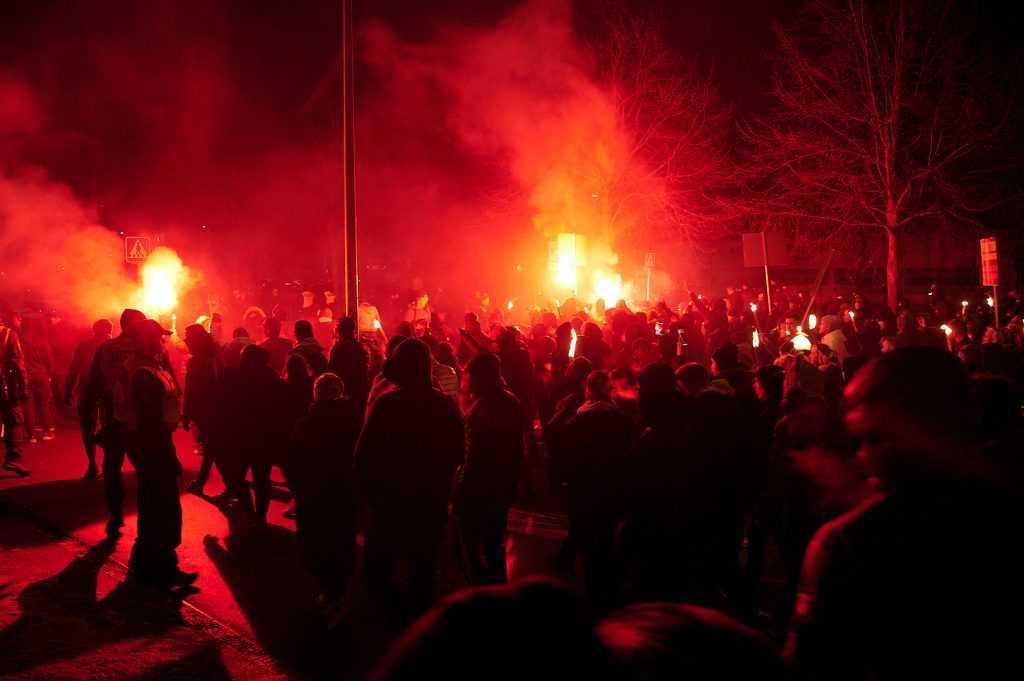 Men In Black-demonstration i Aarhus